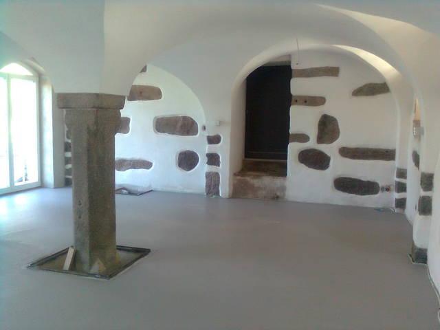 Referenzen Lehmputz Natursteinwand Gewolbe Fachwerk Dielung